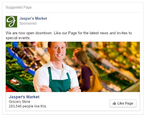 Like ad Facebook