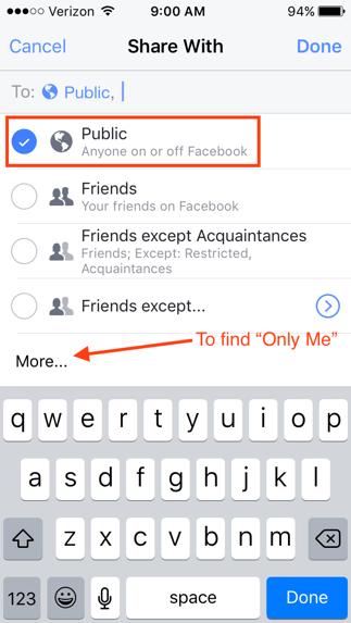 public-privacy-setting