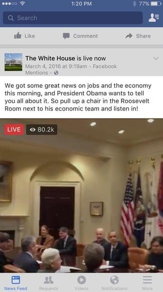 white-house-facebook-live-description